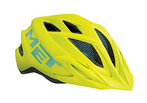 MET Crackerjack Kinderhelm Unisize (52/57 cm) Farbe Safety Yellow