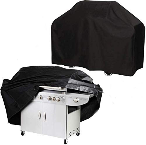 G.F. House Barbecue Gaz, House de Protection pour Barbecue, Couverture de Gril, Bâche de Protection BBQ, 145x61x117, Adaptable Weber et Autres