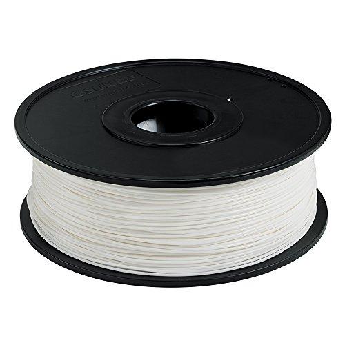 Radioshack imprimante 3d Filament 1kilogramme (1kilogram) blanc