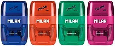 Milan Compact Gomas de Borrar, Blanco, Pequeño