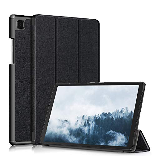 TOPCASE Cover Compatible with Samsung Galaxy Tab A7 10.4' 2020 SM-T500/SM-T505 Tablet Case with Stand and Auto Sleep/Wake Function,Black