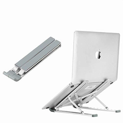 LIJIANZI Worth having - Soporte de escritorio del titular de la computadora portátil ajustable, soporte portátil plegable de aleación de aluminio de aleación de aluminio mini para computadora universa