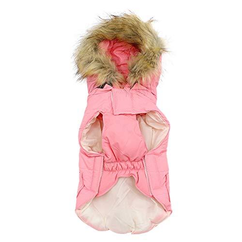 Balacoo - Abrigo de Invierno para Perro, de algodón cálido, con Gorro,...