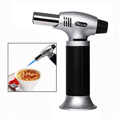 Itian Flambierbrenner/Küchenbrenner/Butangasbrenner Für Creme Brulee(Butangas Nicht enthalten)