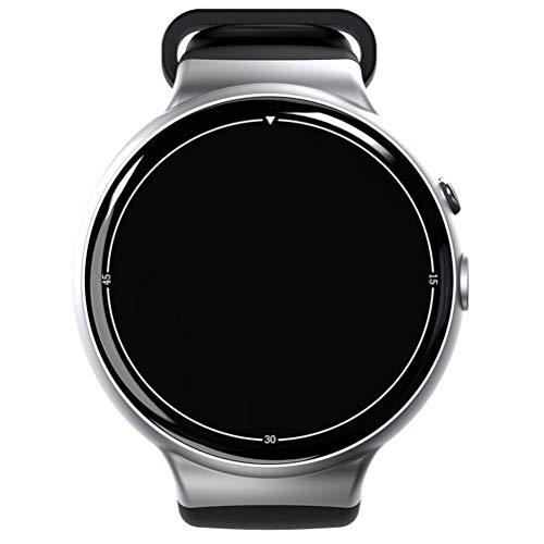 Pulseira Inteligente I4 AIR 3G Smart Watch Phone MTK6580 Android 5. 1 Quad Core 2G RAM 16G ROM 2. 0MP Camera Monitor de frequência cardíaca Pedômetro WIFI GPS SIM Smartwatch para Android IOS ( cinza prateado )