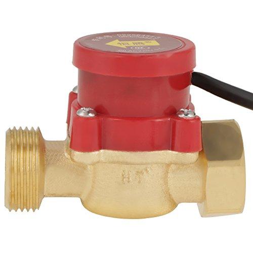 """1 PCS HT-60 220V 0.5A G3 / 4""""-3/4"""" Interruptor de Sensor de Flujo de Bomba de Agua para Hogar Ducha"""