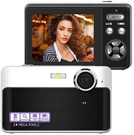 Digital Camera 24MP Portable Point and Shoot Camera with Macro Function 2 4 Inch LCD Screen product image