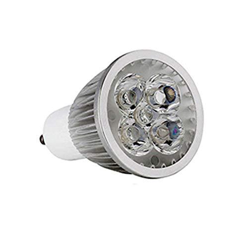 AXspeed GU10 llevó los bulbos 9W 12W 15W de las bombillas nondimmable fresco caliente de la lámpara LED Focos para 15WNon regulable blanco, Cool White
