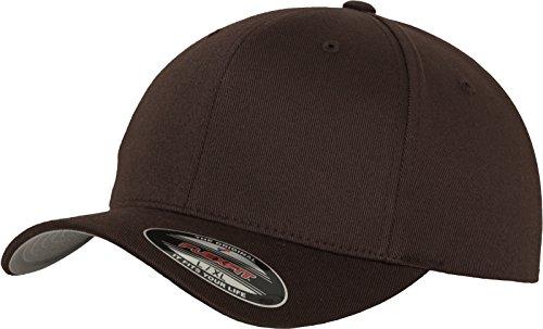 Flexfit Unisex-Erwachsene Wooly Combed 6277 Mütze, Braun (brown), XL/XXL