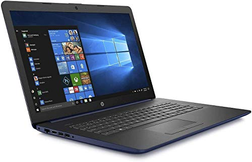 "2019 HP 17.3"" HD+ Flagship Home & Business Laptop, Intel Quad Core i5-8265U Processor Upto 3.9GHz, 16GB RAM, 512GB SSD, DVD-RW, WiFi, HDMI, GbE LAN, Bluetooth, Windows 10, Black"