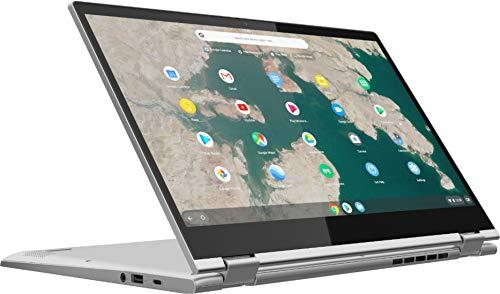 "Lenovo Chromebook C340 15 2-in-1 15.6"" FHD Touchscreen Laptop Computer, Intel Pentium Gold 4417U 2.3GHz, 4GB DDR4 RAM, 32GB eMMC, Webcam, Online Class Ready, Chrome OS, iPuzzle MousePad + 64GB SD CARD"