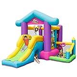 qazxsw Sports Toys Children's Indoor Castle Inflatable Children's Playground Summer Home Playground Inflatable Slide Children's Inflatable Trampoline