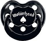 Motörhead Logo Chupete Negro 6-18 Mon.