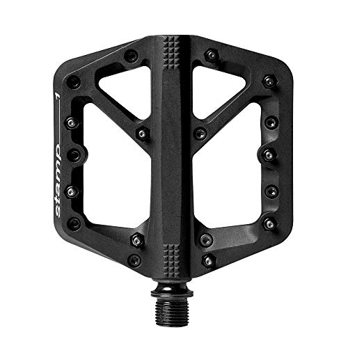 Crankbrothers Stamp Flat BMX/MTB Bike Pedal - Platform Bicycle Pedal, Minimal Profile, Adjustable Grip