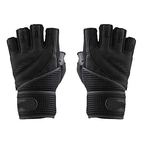 Guantes de fitness con pantalla solar exterior y guantes de protección de tejido transpirable
