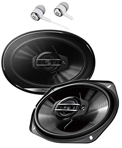 Pioneer TS-G6930F 800 Watts Max Power 6 x 9' 3-Way G-Series Coaxial Full Range Car Audio Stereo...