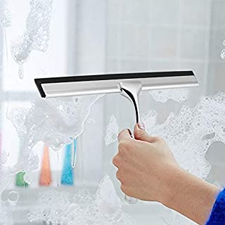 Household Cleaning Tools Zinc Alloy Glass Wiper Cleaning Brushes Window Cleaner