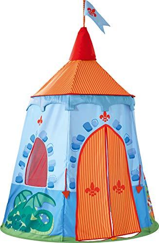 HABA 302876 - Spielzelt Ritterburg | Bezauberndes Zubehör fürs Kinderzimmer | Leicht auf- und abbaubar | Mit Aufbewahrungstasche
