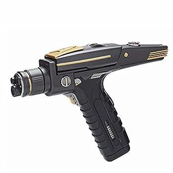 CAFELE Star Trek Phaser Gun Hand Resin Replica Halloween Props Costume Accessory