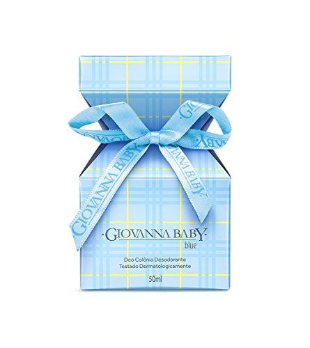 Linha Tradicional Giovanna Baby - Deo Colonia Blue 50 ml - (Giovanna Baby Classic Collection - Blue Eau de Cologne 1.69 Fl Oz.)