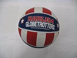 Image: Harlem Globetrotters mini basketball