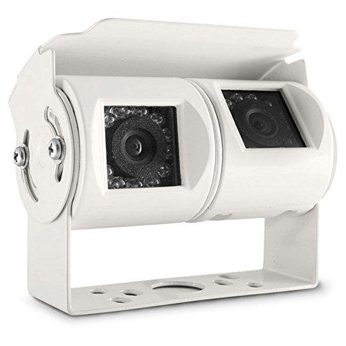 Carmedien Twin Rückfahrkamera cm-DRFK1 Doppel Kamera 12V Twinkamera Doppelkamera Dualkamera