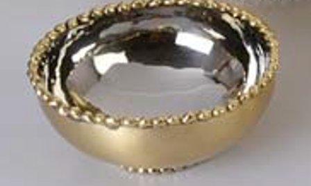 Michael Aram Molten Gold Nut Bowl