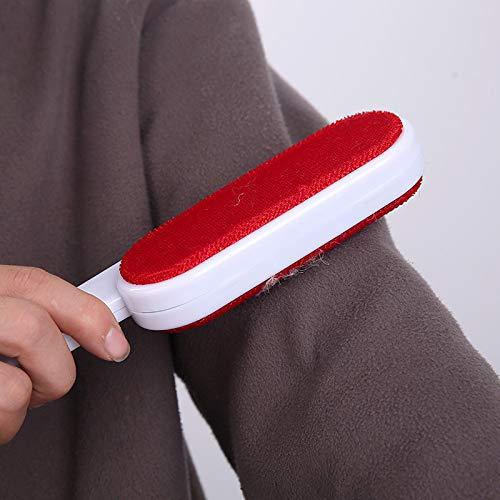 Elektrostatische borstelharen, compact en praktisch, geschikt voor stof en ontharing op banken, dekens en kleding