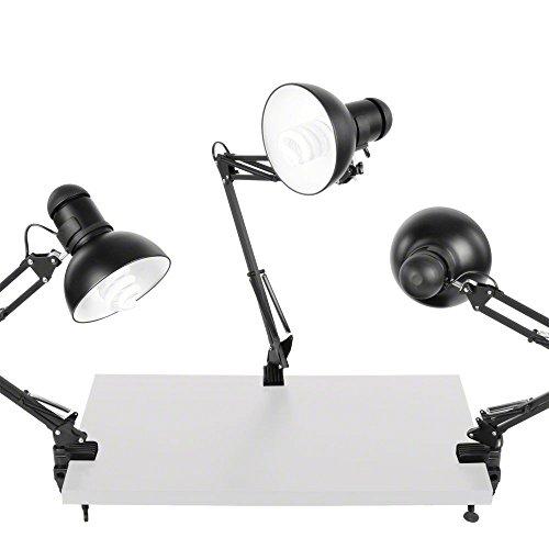 Walimex Daylight Leuchten (3er Set, 3x 125 Watt)