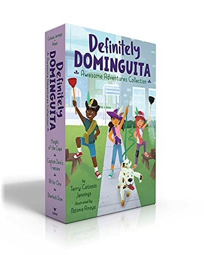 Definitely Dominguita Awesome Adventures Collection: Knight of the Cape; Captain Dom's Treasure; All for One; Sherlock Dom