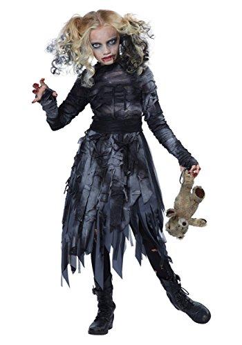 Child Zombie Girl Costume Medium