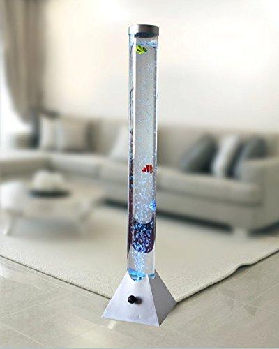 Dapo Wassersäule Aquafee LED farbwechselnd, mit 3 Fischen Höhe 100 cm Dekoration