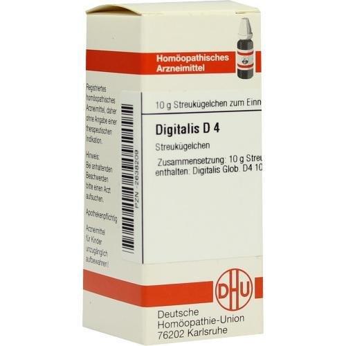 DIGITALIS D 4 Globuli 10 g
