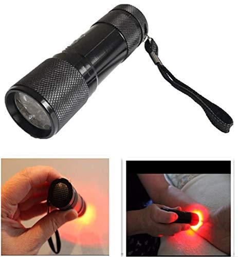 Infrarot-Vein Finder, Infrarot-Ader Finder Taschenlampe Tragbare Vein Anzeige bewegliche Infrarot Vascular-Lampe for Krankenschwestern, Erwachsener, Familie