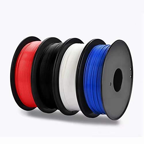 EZT PLA 3D Printer Filament, PLA Filament 1.75mm, Dimensional Accuracy +/- 0.02 mm, 1 kg Spool (Yellow)