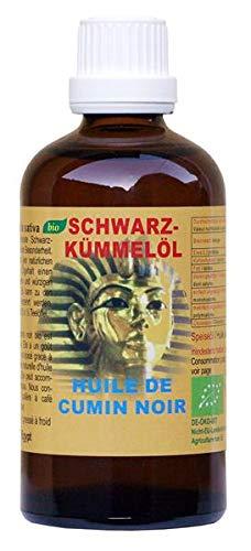 Huile de cumin noir bio - Nigella sativa d'Egypte 100 ml