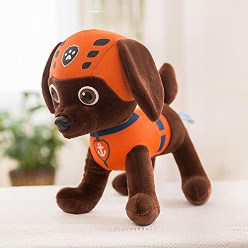 WYSTLDR Equipo de Patrulla de Perros Juego Completo de muñecos de Peluche, Juguetes de Peluche del Equipo de ladridos, muñecos de Cachorros, Regalo de cumpleaños Luma 40CM