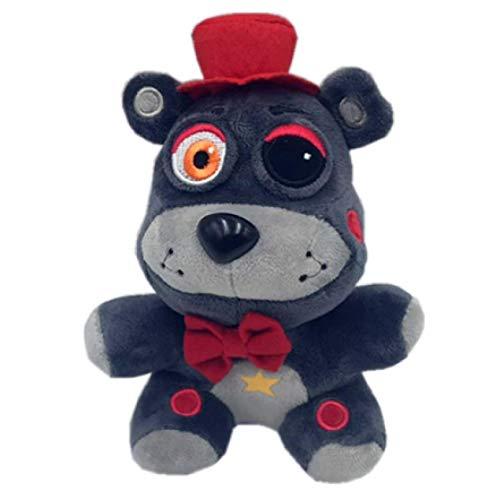 Anime Five Nights At Freddy'S FNAF Plush Doll Freddy Animal Lindo Grizzly Bear Bonnie Soft Stuffed Plush Toy Niños Niña Juguetes Regalo 18Cm