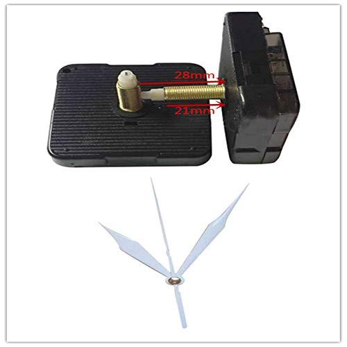 120sets Clock Quartz Mechanism Home DIY Clock Mechanism Movement Parts Replace Accessories Kit for Quartz Clock 28mm Shaft