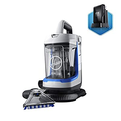Hoover Platinum Collection Bagged Corded Upright Vacuum with Canister Vacuum Cleaner.