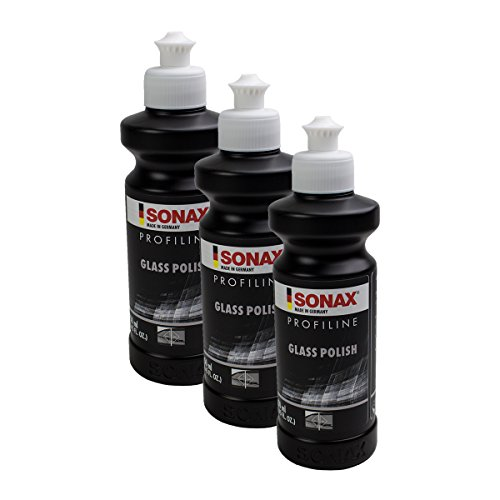 SONAX 3X 02731410 PROFILINE GlassPolish Glas Scheiben Politur 250ml