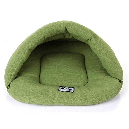 CHSDN Soft Fleece Winter Warm Pet Dog Bed 4 different size Small Dog Cat Sleeping Bag Puppy Cave Bed