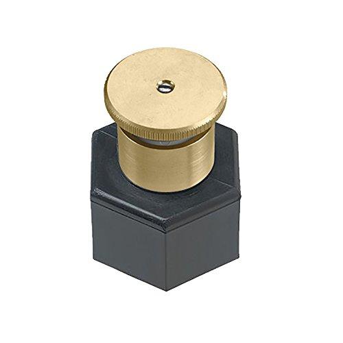 Orbit 54054 Adjustable Pattern Brass Shrub Head Sprinkler, 15-Foot