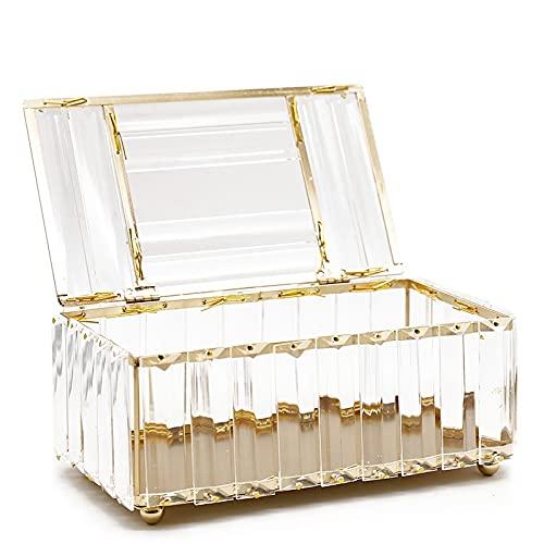 MUY Cristal boîte à mouchoirs Couverture Maison el Voiture Porte-Stylo Outils Accessoires cosmétiques Supports de Rangement de Bureau décoration Serviette en Papier Saint Valentin
