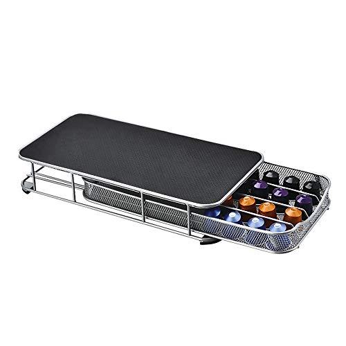 SOOTOP - Cassetto per capsule per Nespresso, con 40 cassetti per capsule di caffè Nespresso, usato in casa, ufficio, cucina, caffè