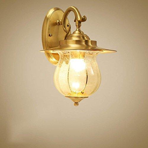 DSJ Full koperen wandlamp-creatief persoonlijkheids-woonkamer verlicht landelijke gang licht corridor-lichten hoge traplichten