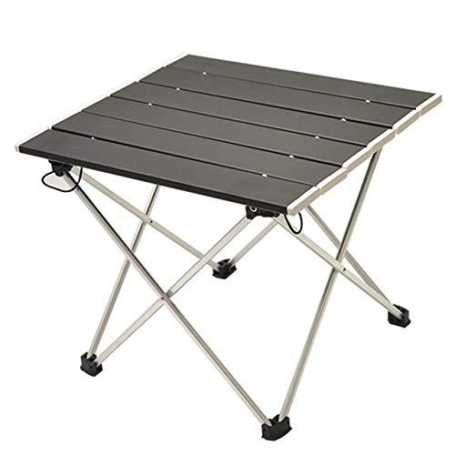 HJFGSAK Klapptisch Neuer tragbarer klappbarer Aluminium-Rolltisch Leichtes Camping im Freien Picknick Einfache Möbel Camping, Rotwein, Russische Föderation