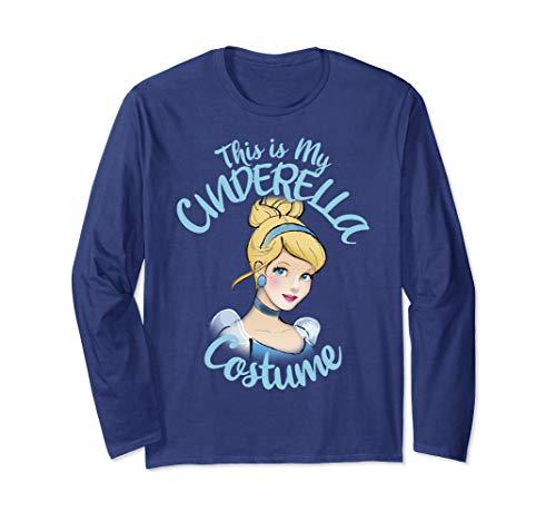 Disney Cinderella This Is My Costume Halloween Long Sleeve T-Shirt