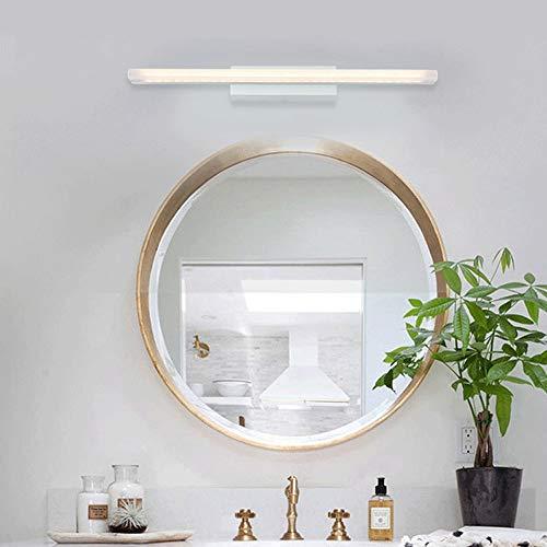 Luces de Espejo LED Lámpara de Pared de baño 6W Neutro White 4000K Maquillaje iluminación Blanco Espejo Frente Iluminación Frente Luz 44cm Not-Dimmable [Clase de energía A +++]