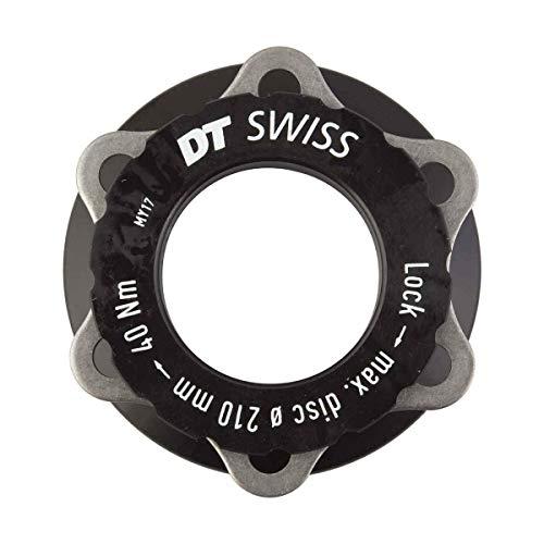 DT Swiss Unisex– Erwachsene Adapter is (6-Loch) Radnabe, schwarz, 1size